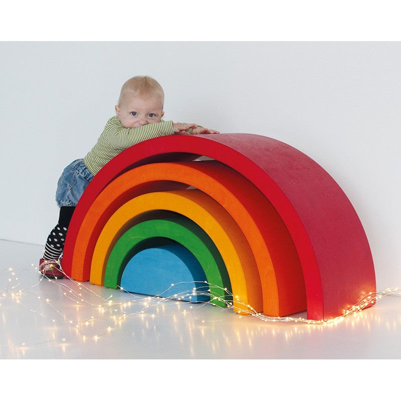 Grimm's Giant Wooden Rainbow XXL Furniture - Oompa Toys