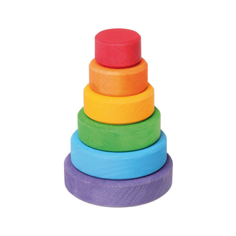 Rainbow Stacking Tower - Small