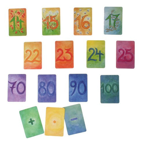Waldorf Number Cards - Add-On Set