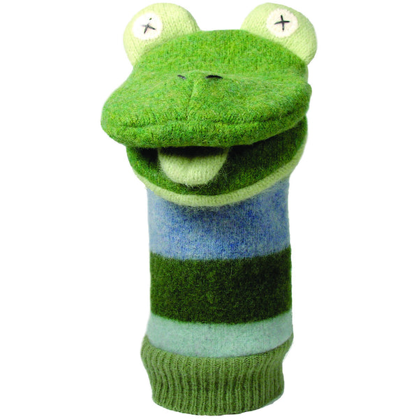 Cate & Levi Frog Hand Puppet