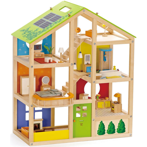 Wooden Dolls & Dollhouses