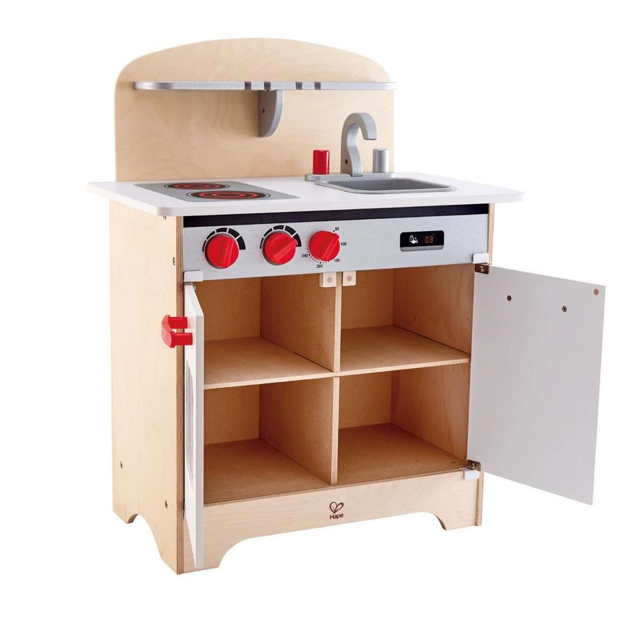 Wood Toy Kitchen - Hape - Interior - Oompa Toys