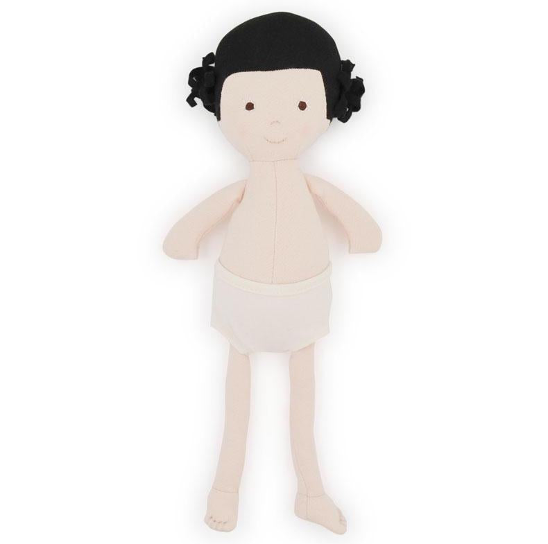 Hazel Village Nell - Organic Girl Doll - No Clothing - Oompa Toys