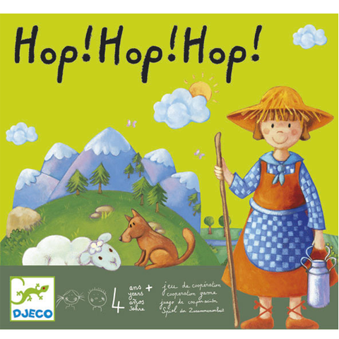 Hop! Hop! Hop! Cooperative Board Game
