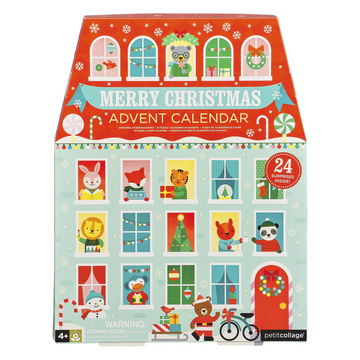 Petit Collage Christmas Pop-Out Advent Calendar | Oompa Toys