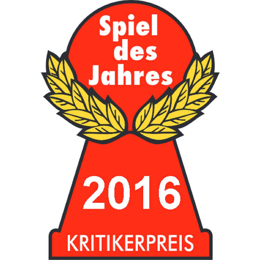 Spiel des Jahres Game of the Year Award 2016 Logo