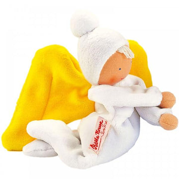Kathe Kruse - Organic Nickibaby Angel Doll - White