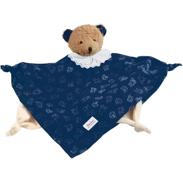 Bear Towel Doll - Navy Blue