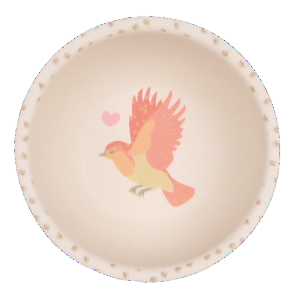 Love Mae Bamboo Dinnerware - Woodland Tea Party - Bowl - Oompa Toys
