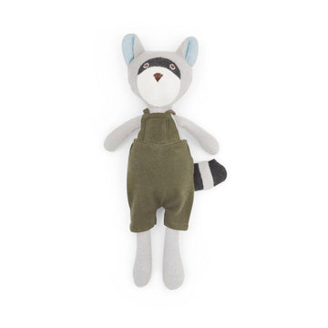 Max Raccoon Organic Stuffed Animal from Hazel Village