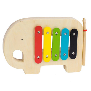 Modern Elephant Xylophone - Petit Collage - Oompa Toys