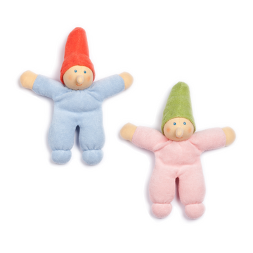 Nanchen Organic Baby Gnome Doll - Pair | Oompa Toys