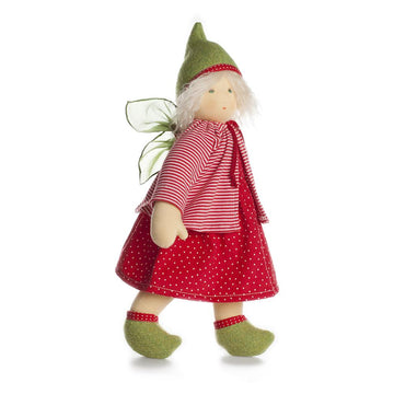 Nanchen Faye Organic Fairy Waldorf Dress-Up Doll | Oompa Toys