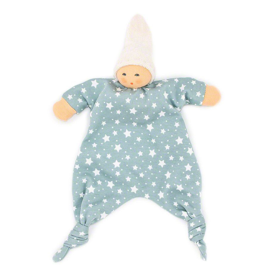 Organic Star Baby Towel Doll