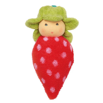 Organic Strawberry Rattle - Nanchen - Oompa Toys