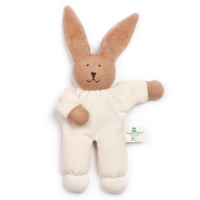 Nanchen Bella Bunny Organic Rattling Soft Toy | Oompa Toys