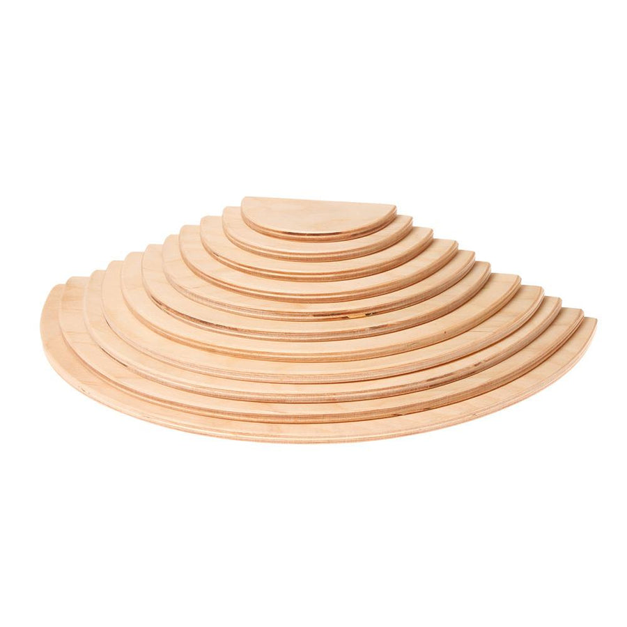 Grimm's Semicircle Building Set | Natural | Oompa Toys