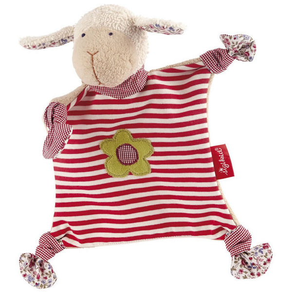 Organic Snuggly Sheep Towel Doll
