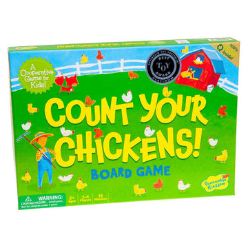 Peaceable Kingdom | Count Your Chickens Cooperative Board Game | Oompa Toys