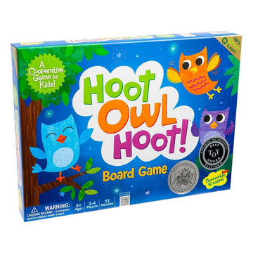 Peaceable Kingdom | Hoot Owl Hoot Cooperative Board Game | Oompa Toys