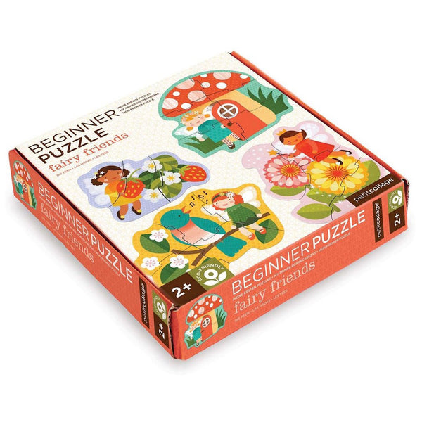 Petit Collage Beginner Puzzles Fairy Friends Box