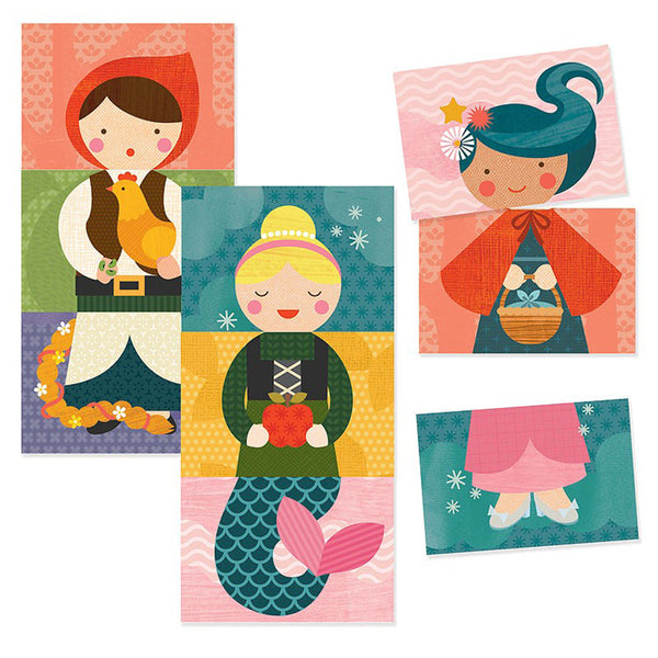 Mix & Match Cards - Fairy Tales