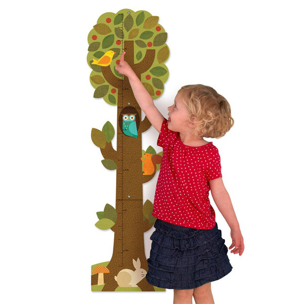 Petit Collage - Tree Friends Growth Chart - Child