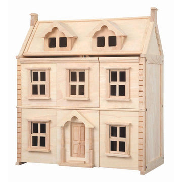 Plan Toys - Victorian Wooden Dollhouse - Oompa Toys