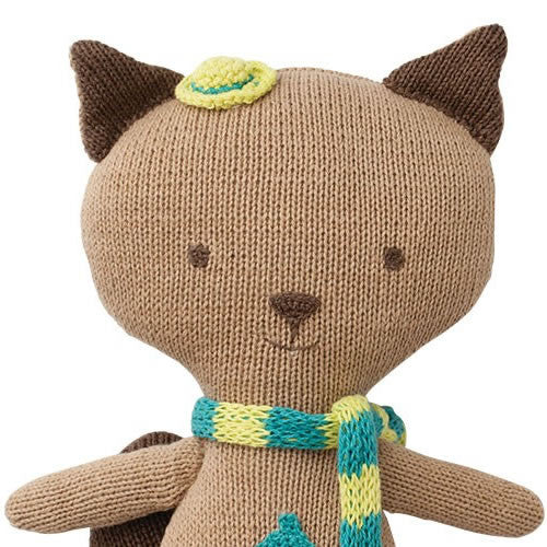 Organic Quincy Squirrel Knitted Toy