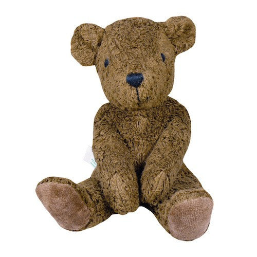 Organic Cotton Plush Teddy Bear (Brown)