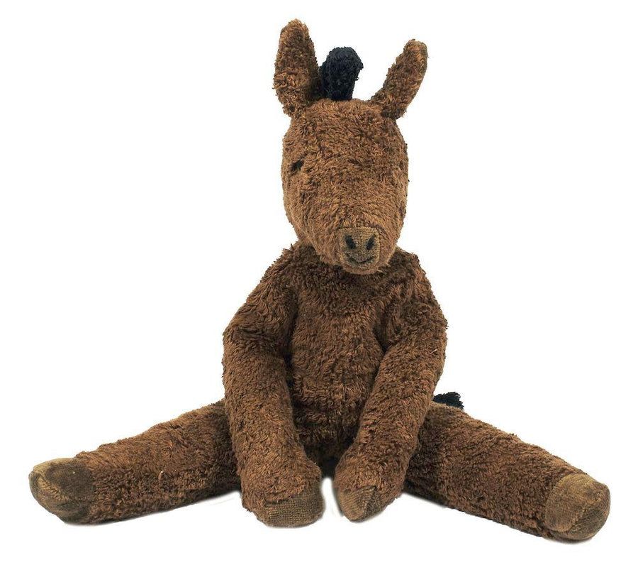 Organic Cotton Plush Horse - Two Sizes