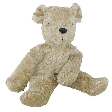 Organic Cotton Plush Teddy Bear (Beige)