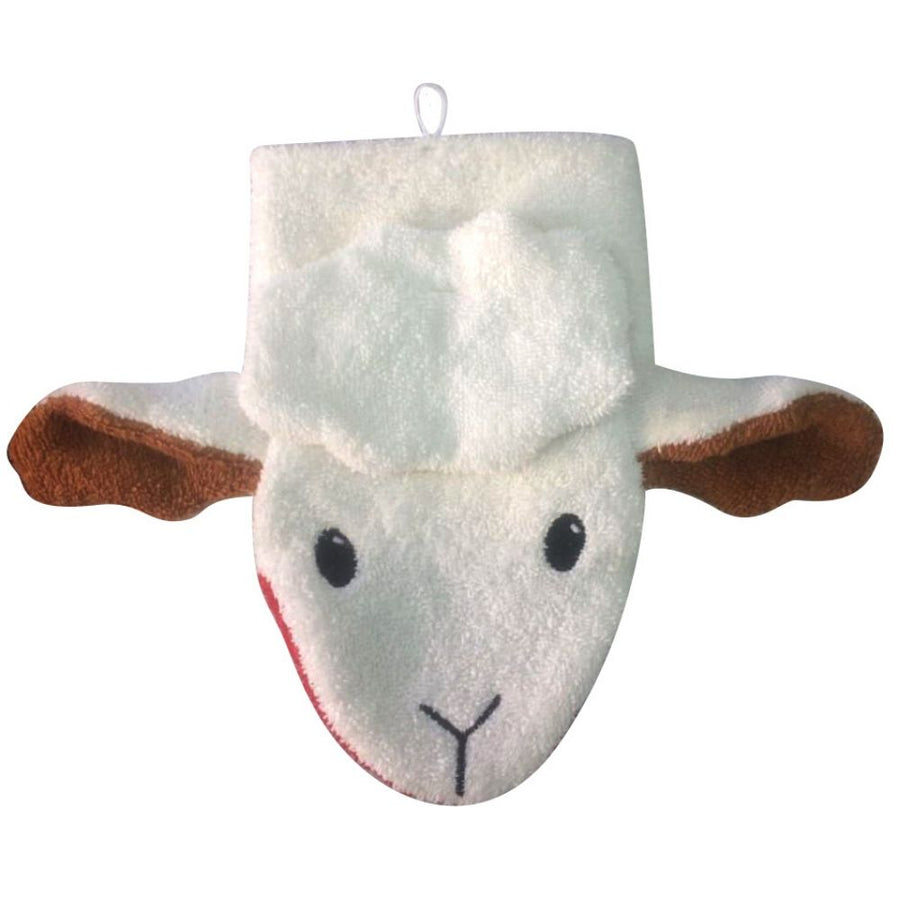 Organic Cotton Sheep Washcloth