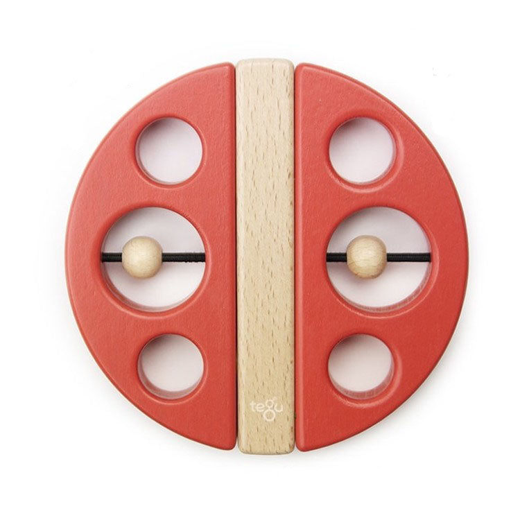 Wooden Swivel Bug, Red