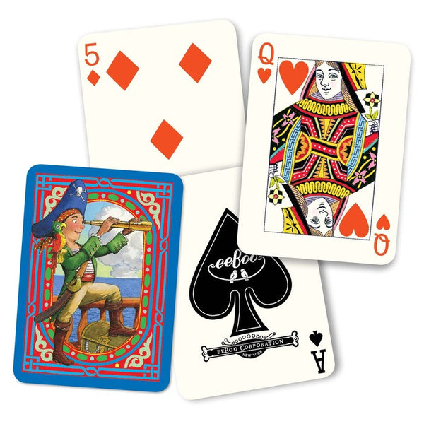 Pirate Traditional 52 Playing Cards