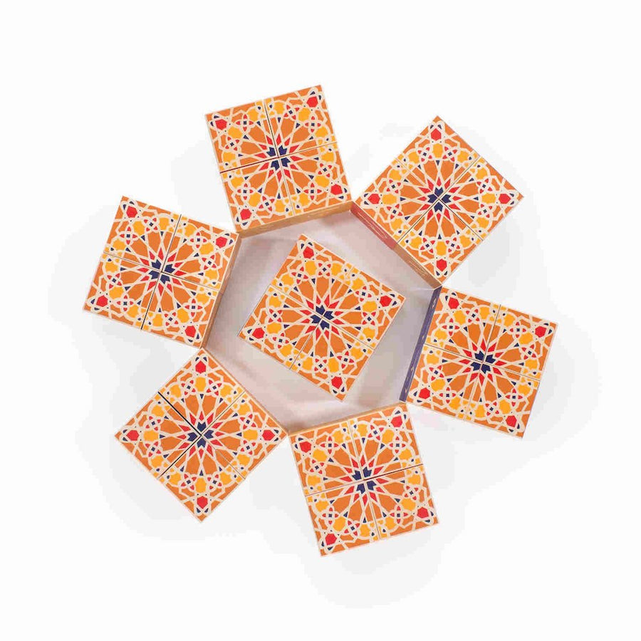 Uncle Goose Arabic Blocks Geometric Design - Oompa Toys