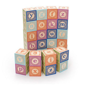 Wooden Alphabet Blocks, Lower Case, Uncle Goose