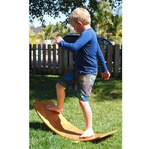 Curvy Board - Waldorf Wooden Rocker Board
