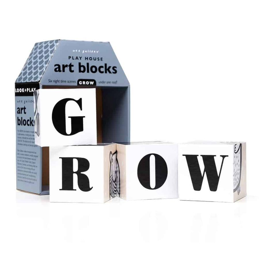 Wee Gallery - Grow Playhouse Art Block - Oompa Toys -