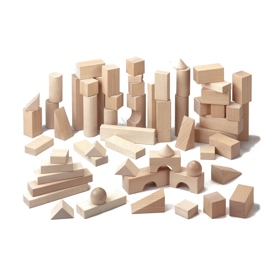 Haba Basic Building Blocks Large Set | Wooden Toys | Wooden Blocks | Oompa