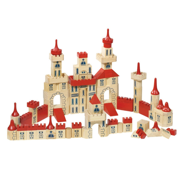 Wooden Castle Blocks