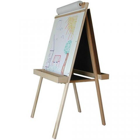Deluxe Wooden Easel, Wooden Tray