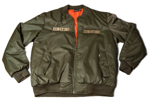 Green, Plated Bomber