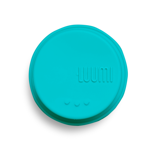 plastic free reusable silicone sipping lid - LuumiLife
