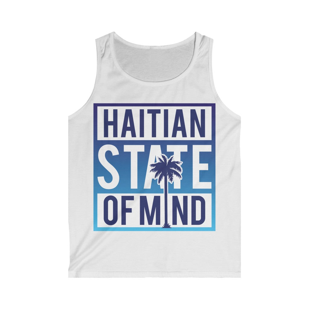 Blue Haitian state of mind Tank Top