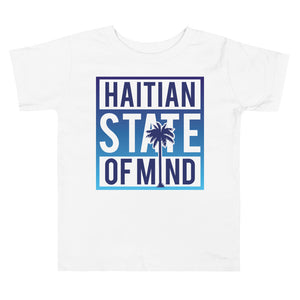 Blue Haitian State of Mind Toddler Tee