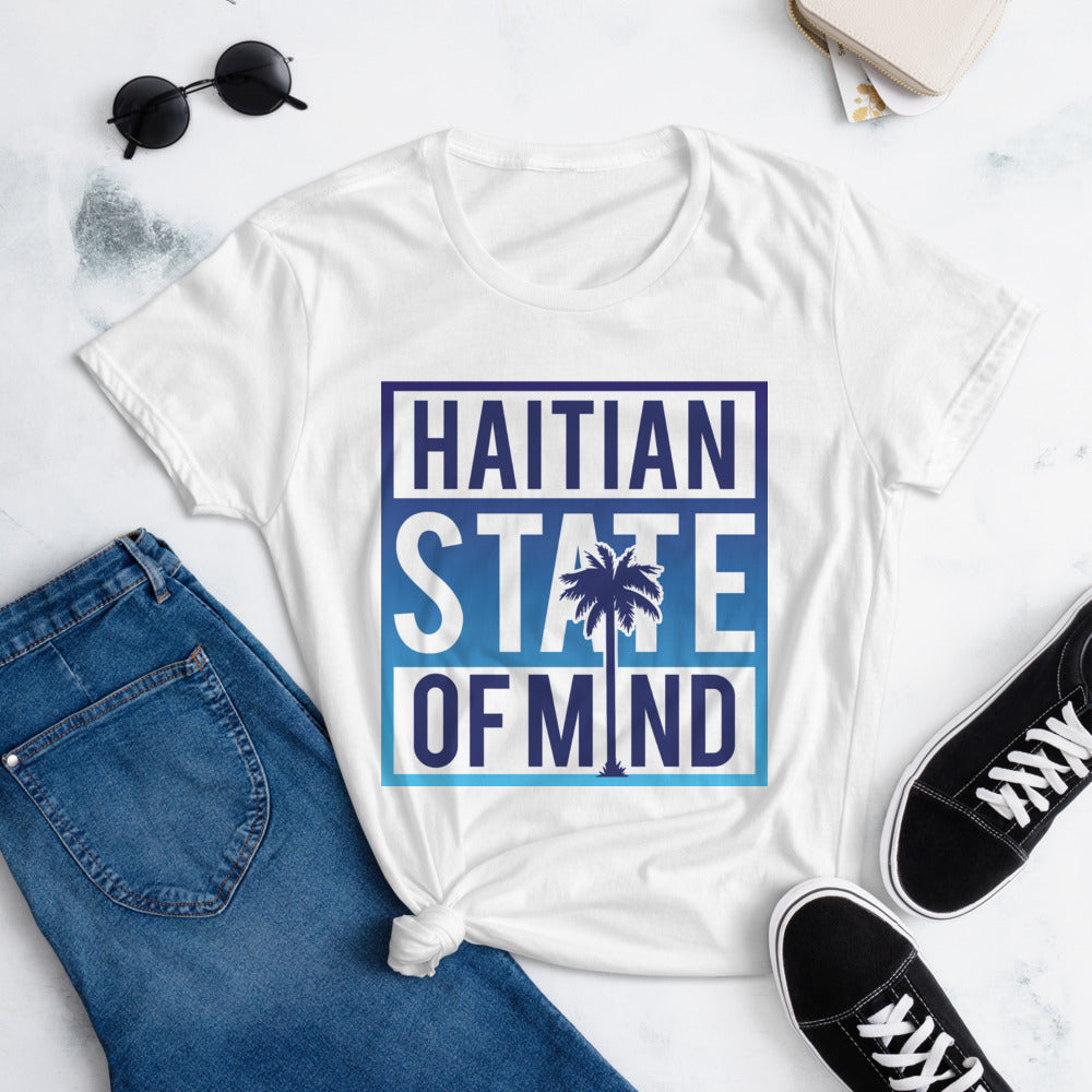 Blue Haitian State of Mind T-Shirt