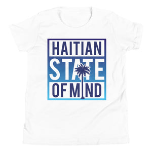 Blue Haitian State of Mind Youth Tee