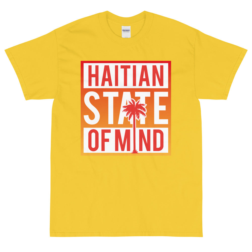 Red Haitian State of Mind T-shirt