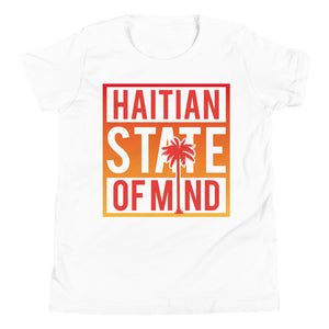 Red Haitian State of Mind Youth Tee
